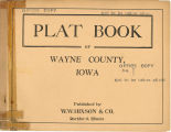 Plat book of Wayne County, Iowa