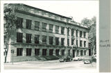 Street view of Zoology Building, the University of Iowa, June 1952