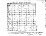 Iowa land survey map of t069n, r032w