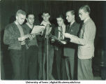 WSUI radio performers, The University of Iowa, 1940s