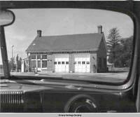 Gas station, Amana, Iowa, ca. 1930s