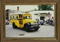 School Bus in Orient, Iowa