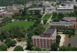 Aerial photographs of campus flooding, The University of Iowa, June 16, 2008