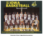 1987-1988 Iowa basketball team, The University of Iowa, 1987
