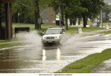 Flooding near Art Building West, The University of Iowa, June 13, 2008