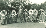 Dancers, The University of Iowa, 1910s