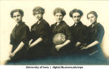 Women's basketball team, The University of Iowa, 1913