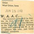 W.A.A.C.-