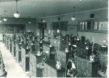 Dental laboratory at Trowbridge Hall, The University of Iowa, June 10, 1949