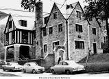 Phi Kappa Sigma sorority house, Iowa City, Iowa, between 1956 and 1960
