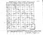 Iowa land survey map of t071n, r021w