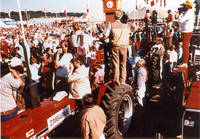Crowd at the World Ag Expo, Amana, Iowa, 1988