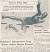 Drake Times-Delphic, 1938, Osborne's Spectaular Leap