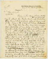 27. Gen. Samuel R. Curtis to Lincoln on conflicts with Arksansas Military Governor John S. Phelps