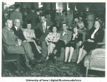 Alumni gathering at Iowa Memorial Union, The University of Iowa, 1950s