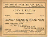 Plat book of Fayette County, Iowa