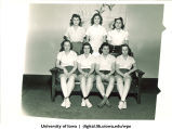 Student athletes, The University of Iowa, 1940s