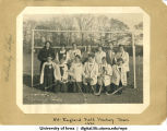 All-England field hockey team, Wellesley College, November 1921