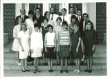 School of Library Science graduates and faculty, The University of Iowa, August 1968