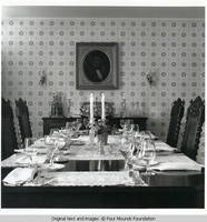 White house dining room