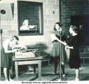 WSUI radio broadcast, The University of Iowa, 1940s