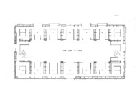 03. Blueprints of the State Law Library of Iowa- Third Floor
