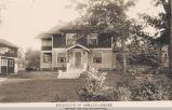 35th Street, Oswald Lorenz Residence