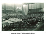 Commencement at the Field House, The University of Iowa, 1930s