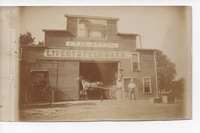 Livery Barn in Orient Iowa
