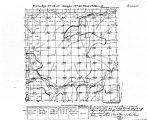 Iowa land survey map of t074n, r019w