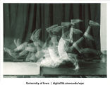 Forward roll sequence, The University of Iowa, 1960s