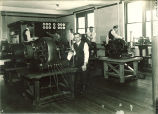 Electrical engineering lab, The University of Iowa, 1910s