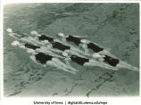 Synchronized swimmers, The University of Iowa, 1937