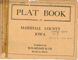 Plat book of Marshall County, Iowa