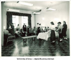 Social reception, The University of Iowa, 1930s
