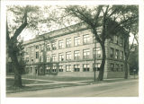 Southeast view of Zoology Building, the University of Iowa, October 1929