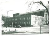 Street view of Halsey Hall, the University of Iowa, 1930s?