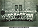 Track and field varsity squad, The University of Iowa, May 1939