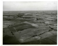 Soil Conservation Week Activities- Aerial photograph of land.