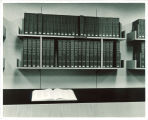 National Union Catalog volumes shelved in Main Library, the University of Iowa, 1970s
