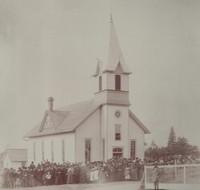 St. Peter Lutheran Church in Garnavillo, Iowa -1897 Dedication