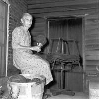 Ida Hertel winding rag strips