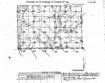 Iowa land survey map of t067n, r024w
