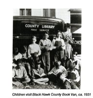 Black Hawk County Book Van, ca.1931