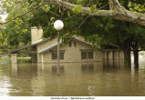 Lagoon Shelter House flooded, The University of Iowa, June 13, 2008