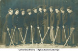 Field hockey team, The University of Iowa, 1915