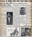 Drake Times-Delphic, 1941, Fourteen of Bulldog Hosts Enter Seven Relays Events
