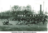 Football game at Iowa Field, The University of Iowa, 1917 or 1919