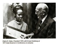 Elaine Estes and Ernest Hertzberg