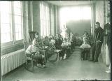 Children's Hospital classroom, The University of Iowa, 1919